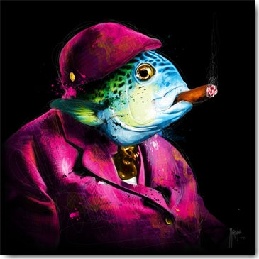Patrice Murciano ONCLE SUSHI Framed Wall Art
