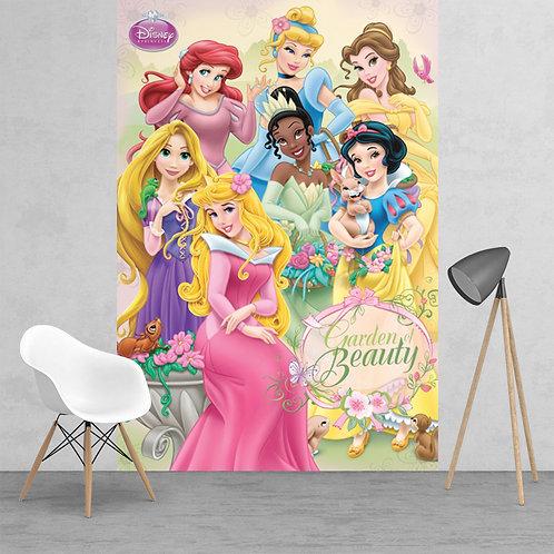 Disney Princess Ariel SnowWhite Bell Sleeping Beauty Feature 2 Piece Wall Mural