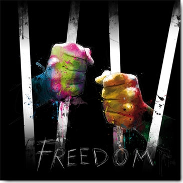 Patrice Murciano FREEDOM Framed Wall Art