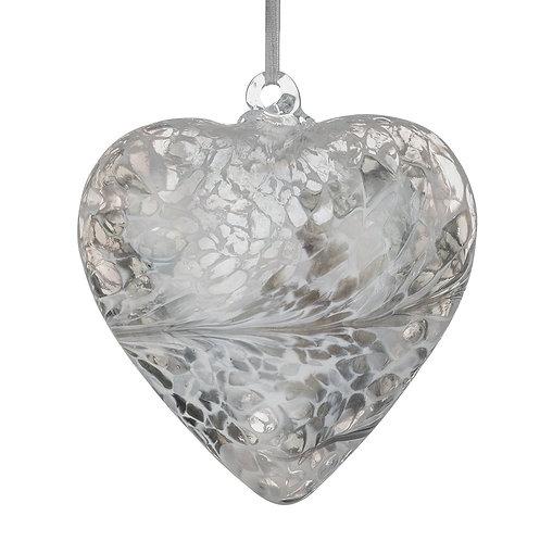 Friendship Hearts 8cm -Silver