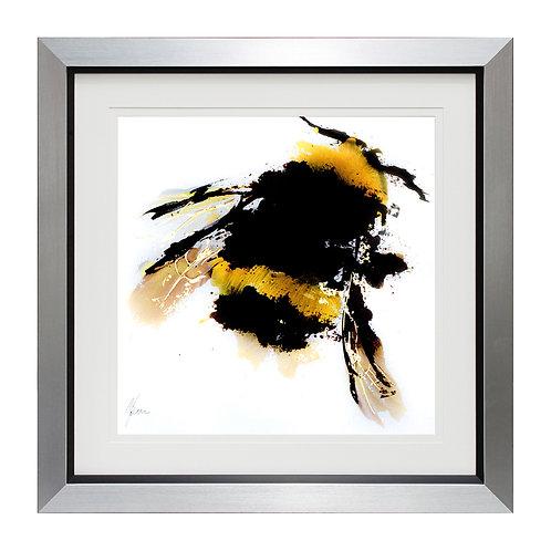 Scruffy Bumblebee I Framed Wall Art