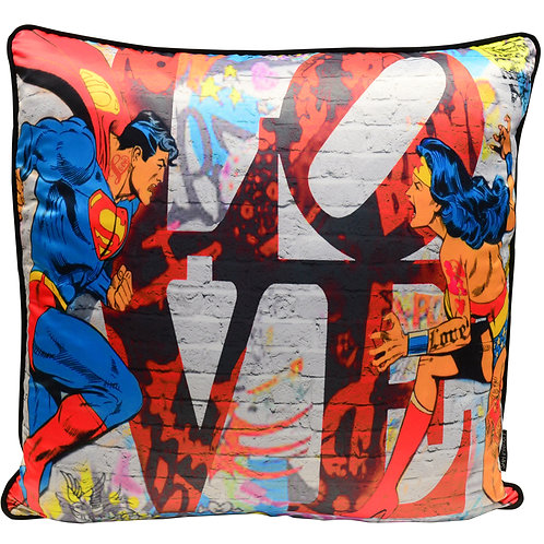 Dirty Hans Heroes Love Feather Filled Cushion