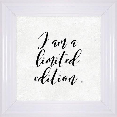 I Am A Limited Edition Framed Artwork - 55x55cm