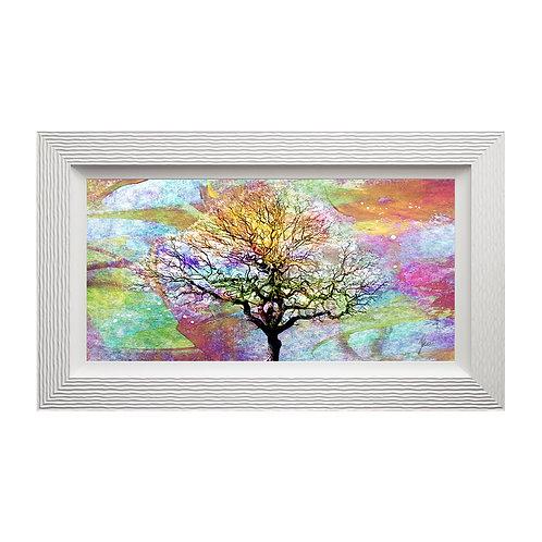 Tree Liquid Art Framed Wall Art