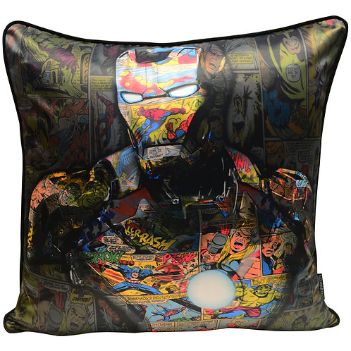 Dirty Hans Ironman Feather Filled Cushion