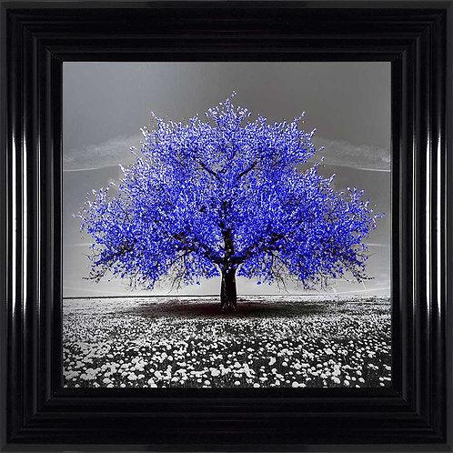 Cherry Tree Liquid Framed Wall Art