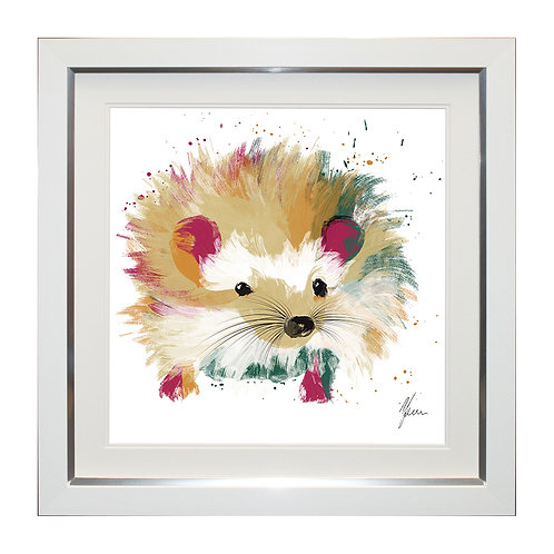 Hedgehog Framed Wall Art