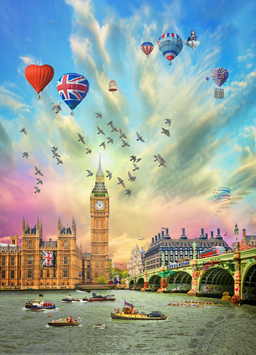 Dirty Hans LONDON CELEBRATIONS Limited Edition Print