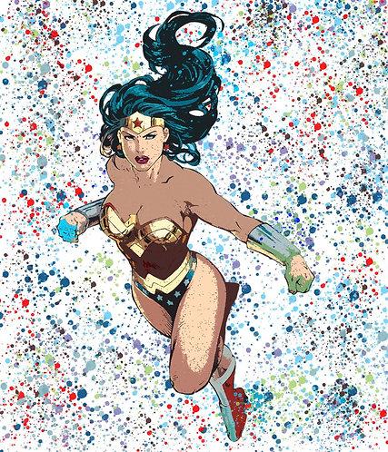 Chloe Rox - Wonder Woman Limited Edition Print