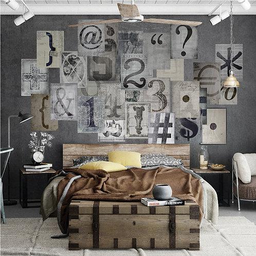 Typo 64 Piece Creative Collage