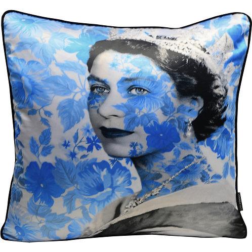 Dirty Hans Queen Elizabeth Feather Filled Cushion