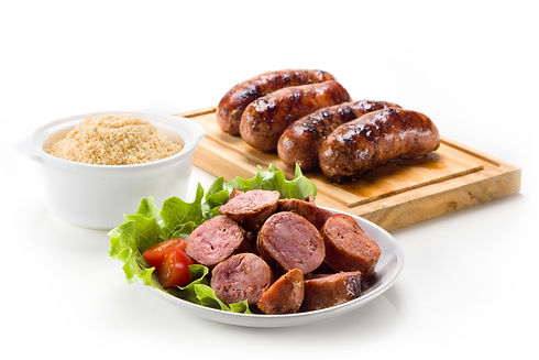 Sausage roasted on the grill..jpg