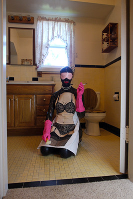 """""""Household Chores #2"""". Digital photograph for SOVA Magazine 'Adult' issue."""