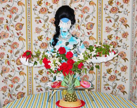 """""""Demure Debutante"""". Digital photograph for BULLETT Magazine."""