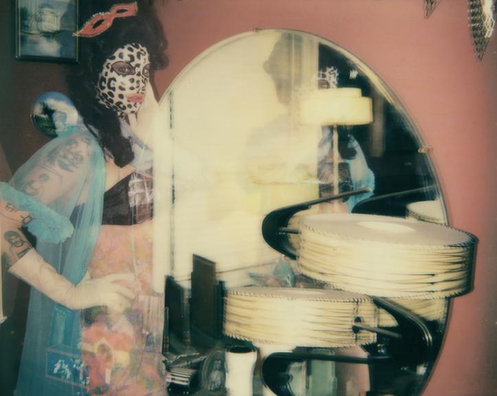 """She Dissolved"". Polaroid Spectra photograph."