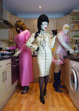 """Miss Meatface & Meat Maids"". Digital photograph."
