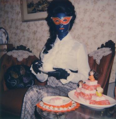 """Tea Break #2"". Polaroid Impulse photograph."