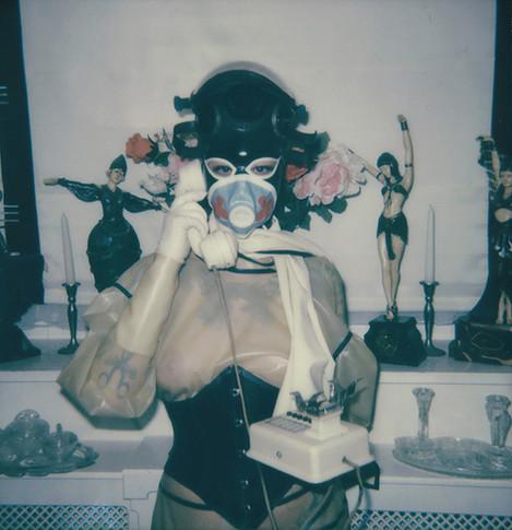 """To See Through"". Polaroid Impulse photograph."