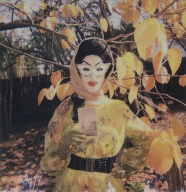 """""""Rubies Postcard #2"""". Polaroid Impulse photo."""