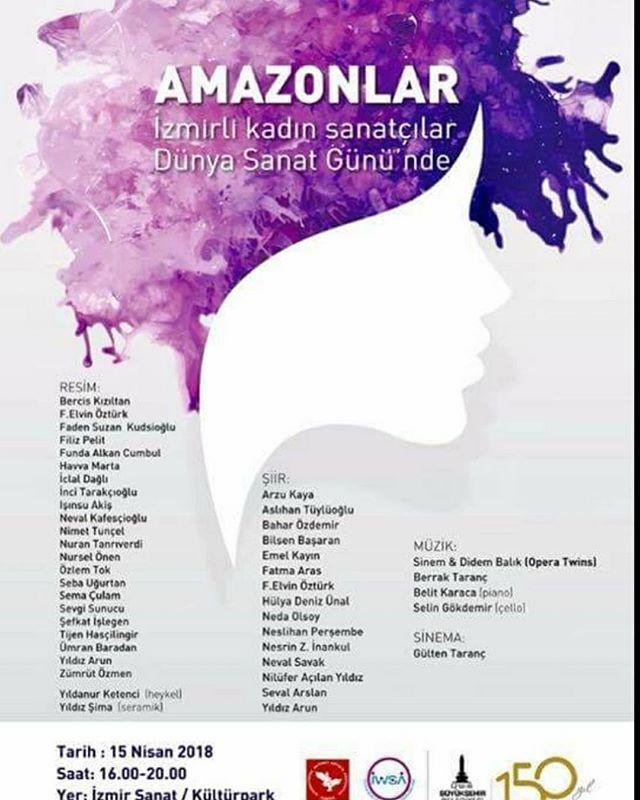 İzmirli kadın sanatçılar #etkinlik #oper