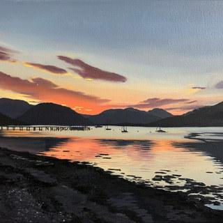 Resting Light, Sandbank Marina