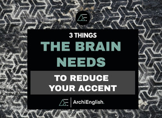 How can I reduce my accent to improve my pronunciation?