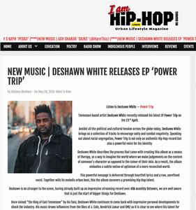 I Am Hip-Hop Magazine (Feature)
