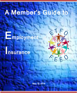 ETFO Member Guide to Employment Insurance