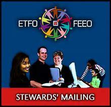 ETFO Steward's Mailings
