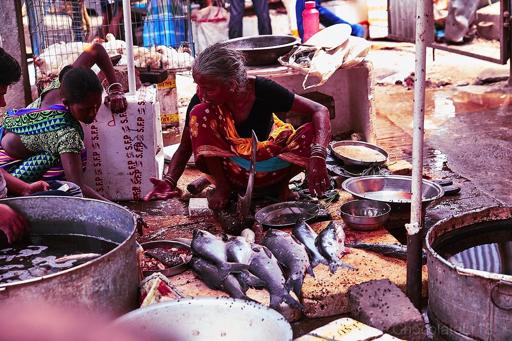 fish market patna patliputra