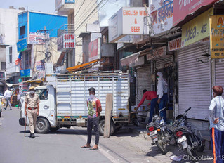 India Lockdown 3.0 -JAIPUR