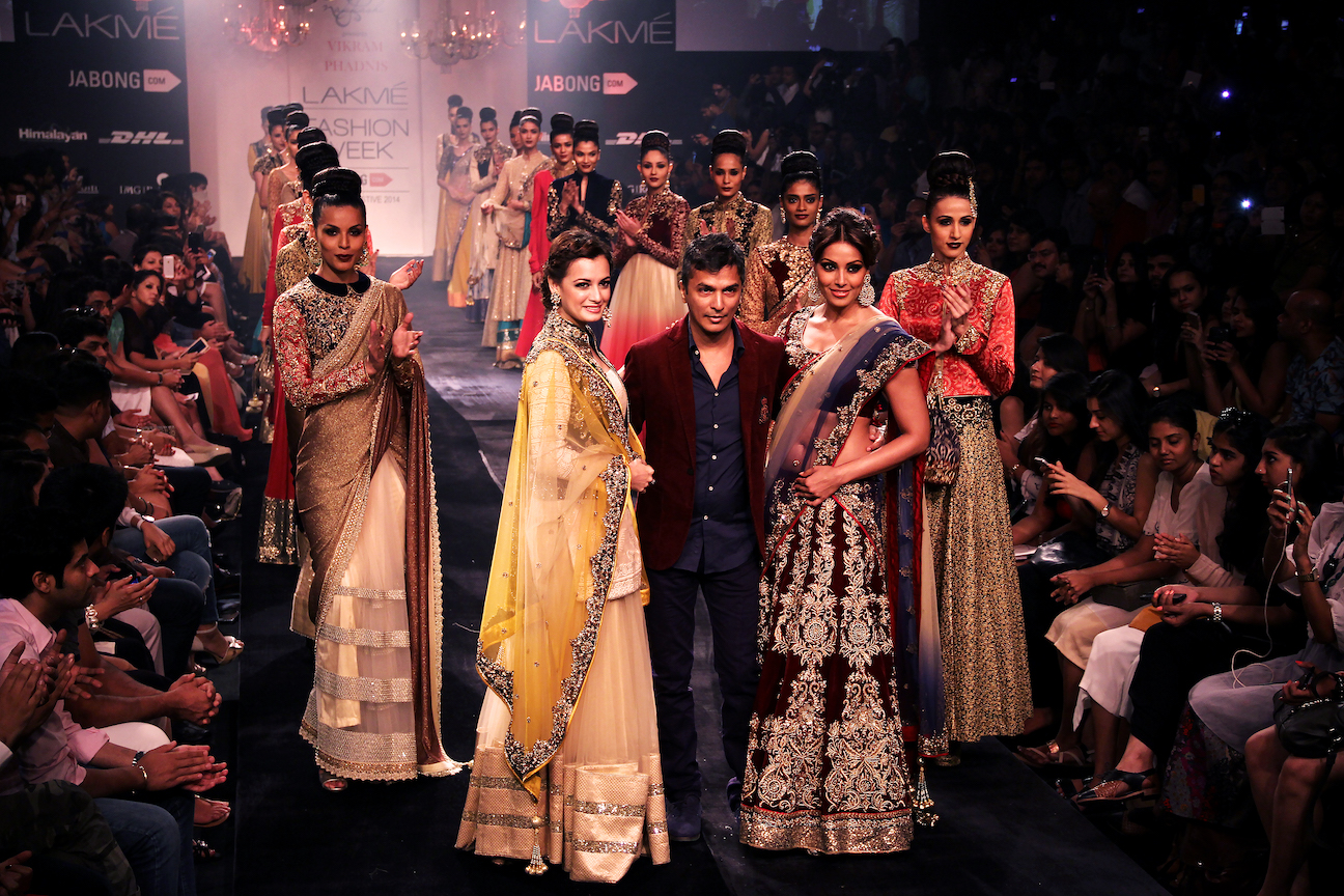 Vikram pandis at lake fashion week