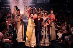 Vikram pandis at lake fashion week