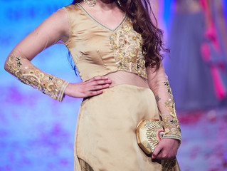 Srishti Rana walks for Fushia bridal couture