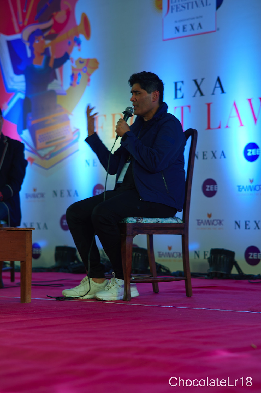 Manish Malhotra at front lawns