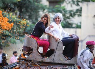 Nathalie Roos -President Loreal Global India visit..