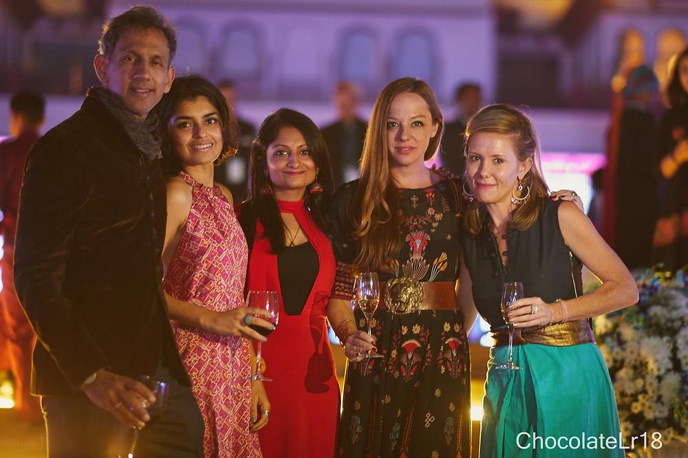 writers ball at Rambagh Hotel