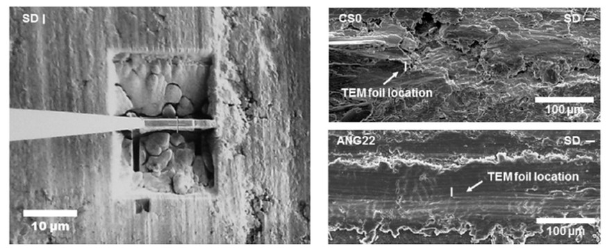 """J.M. Shockley, E.F. Rauch,R.R. Chromik, S. Descartes, """"TEM microanalysis of interfacial structures after dry sliding of cold sprayed Al-Al2O3,"""" Wear 376, 1411-17 (2017)."""