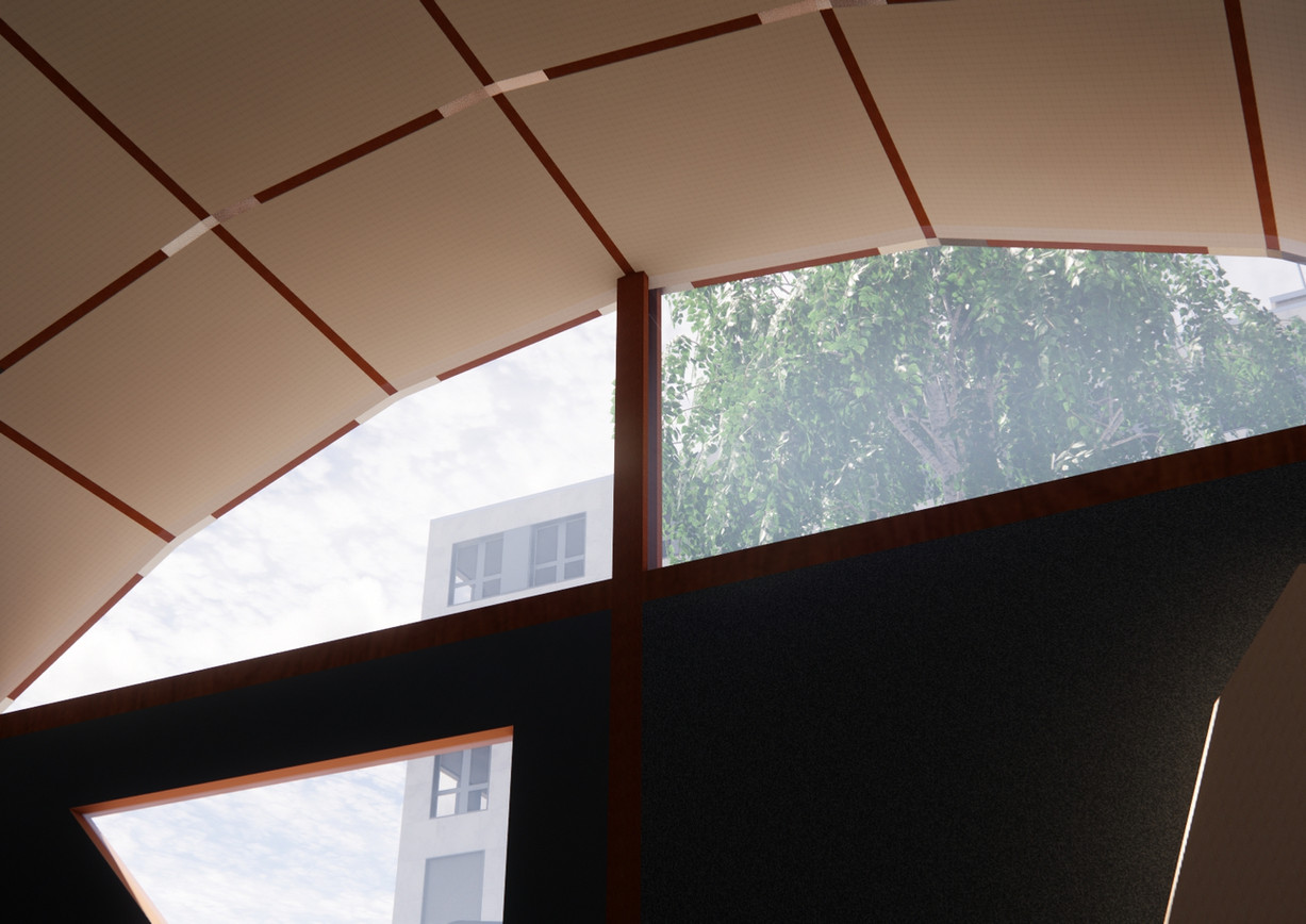 indirect light panels in polycarbonat