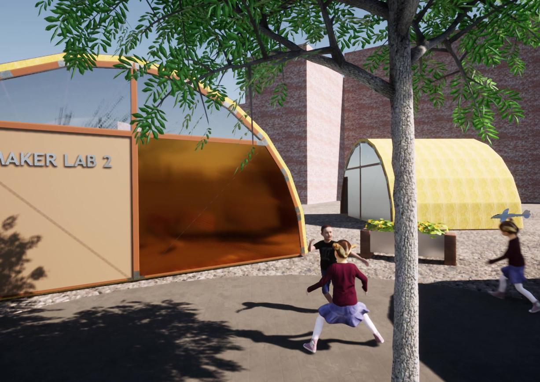 Outdoor school modules