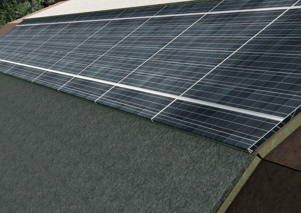 solar panels for electricity