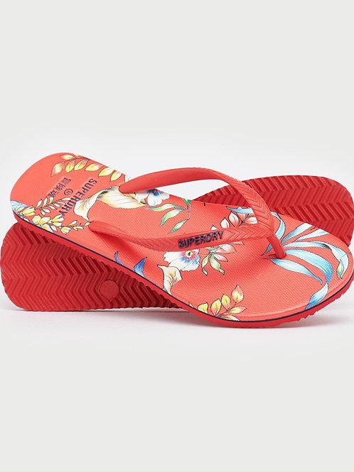 Superdry Flip Flop Red