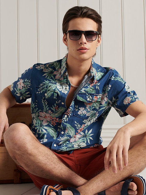 Superdry Denim Loom Shirt