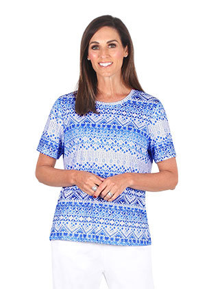 CLASSIC short Sleeved Print Tee - Style 5727