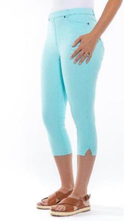 STRETCH Capri Pants - Style CLM216