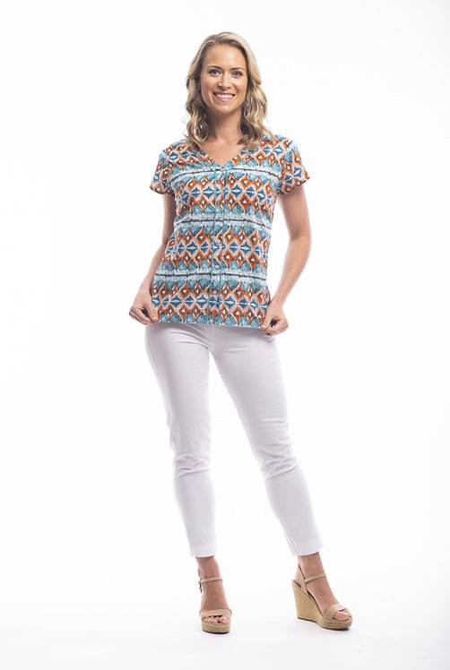 PLAYA BLANCA Short Sleeved Shirt - Style 82113