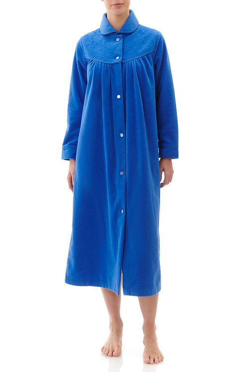 Short Button Front Dressing Gown - Style 5GB74