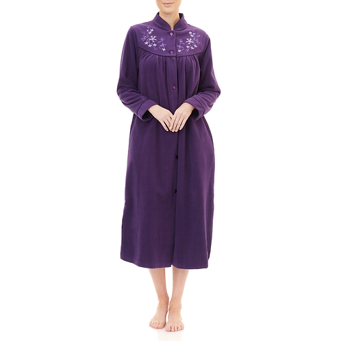 Button Front Dressing Gown - Style 5GB80