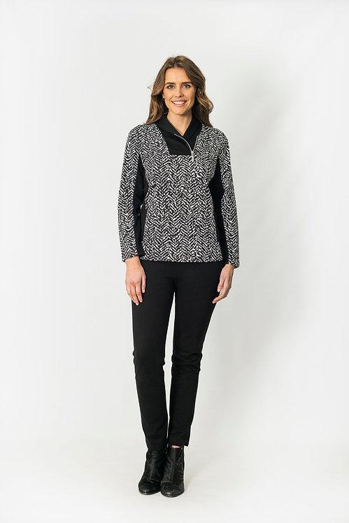 Long Sleeved Zip Top - Style 2612.47
