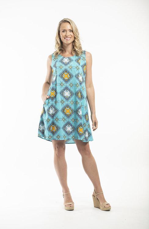 OIA Sleevless Pocket Dress - Style 52590